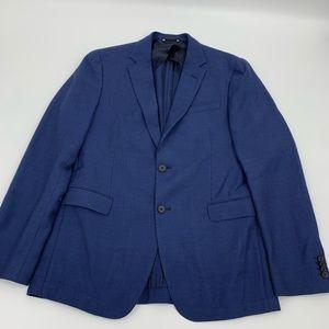 New Hugo Boss Super 120 MensBlazer Sport Coat Blue